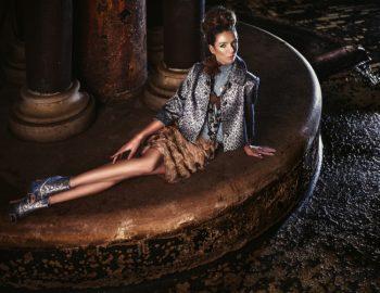 Bőr+parafa= 'couture' táska
