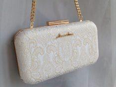 'Golden Dust' alkalmi táska
