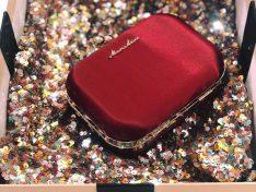 'Merlot' alkalmi táska