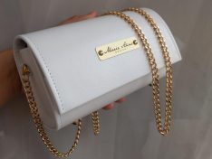 Menyasszonyi táska- fehér